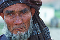 Old man photographed in the Samangan province in Northern Afghanistan (photo: Michael Lund)